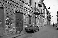 - Milano 1975, via San Dionigi, quartiere Corvetto<br /> <br /> - Milan 1975, San Dionigi street, Corvetto district