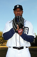 Feb 21, 2009; Lakeland, FL, USA; The Detroit Tigers pitcher Edwin Jackson (36) during photoday at Tigertown. Mandatory Credit: Tomasso De Rosa/ Four Seam Images