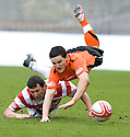 05/02/2011   Copyright  Pic : James Stewart.sct_jsp021_hamitlon_v_dundee_utd  .::  MARTIN CANNING GOES IN LATE ON CRAIG CONWAY ::.James Stewart Photography 19 Carronlea Drive, Falkirk. FK2 8DN      Vat Reg No. 607 6932 25.Telephone      : +44 (0)1324 570291 .Mobile              : +44 (0)7721 416997.E-mail  :  jim@jspa.co.uk.If you require further information then contact Jim Stewart on any of the numbers above.........