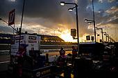 #27: Alexander Rossi, Andretti Autosport Honda, sunset