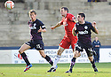 Partick's Kris Doolan (16) scores Thistle's equaliser late into injury time ...