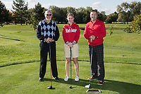 From left are Philip Wright, Jenna Frudd and Nigel Jemson of Team Woodhead Group