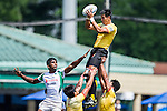 Sri Lanka plays China during the ARFU Asian Rugby 7s Round 1 on August 23, 2014 at the Hong Kong Football Club in Hong Kong, China. Photo by Xaume Olleros / Power Sport Images