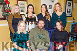 Enjoying the evening in the Brogue Inn on Saturday.<br /> Seated l to r: Aoife Moore, Tom Vance and Aideen Carmody, <br /> Standing l to r: Sarah Tarrant, Kate Dillon, Lauren O'Connor and Sarah Walsh