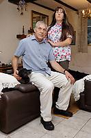 2020 02 24 Sharon and Mark Batchelor,  Ystalyfera, south Wales, UK