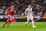"Toni Kroos of Real Madrid is followed by Paulo Henrique Chagas de Lima ""Ganso"" of Sevilla FC during their Copa del Rey Round of 16 match between Real Madrid and Sevilla FC at the Santiago Bernabeu Stadium on 04 January 2017 in Madrid, Spain. Photo by Diego Gonzalez Souto / Power Sport Images"