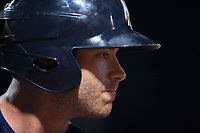 Northwest Arkansas Naturals infielder Taylor Featherston (12) waits in the on-deck circle on May 18, 2019, at Arvest Ballpark in Springdale, Arkansas. (Jason Ivester/Four Seam Images)