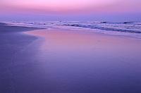 Sunrise and Atlantic Ocean, Stone Harbor, New Jersey