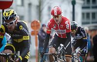 Louis Vervaeke (BEL/Lotto-Soudal) in the breakaway<br /> <br /> 3-daagse van West-Vlaanderen 2016<br /> stage1: Bruges-Harelbeke 176km