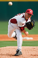 Sam Murphy;March 9th, 2010; South Dakata State University vs Arkansas Razorbacks at Baum Stadium in Fayetteville Arkansas. Photo by: William Purnell/Four Seam Images