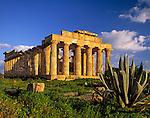Italy, Sicily, Selinunt: doric temple