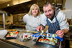 Ross and Nina Hurley of Kerry Sushi. Cancer survivor Ross who's now operating a thriving sushi business that he started during the pandemic