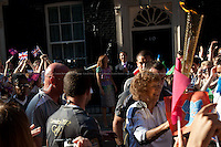 26.07.2012 - The Torch at Downing Street