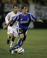 29 October 2005:  Brian Mullan of the Earthquakes in action against LA Galaxy at Spartan Stadium in San Jose, California.   LA Galaxy defeated Earthquakes, 4-2 in two games.