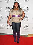 Amber Riley at the Twenty-Seventh Annual PaleyFest: William S. Paley Television Festival honoring The Cast of Glee held at The  Saban Theatre in Beverly Hills, California on March 13,2010                                                                   Copyright 2010  DVS / RockinExposures
