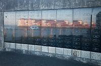 Maritime Memorial Park, Columbia Riverfront, Astoria, Oregon, OR, America, USA.