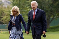 President Biden Returns to the White House from Delaware