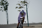 British Champion Alex Dowsett (ENG) Israel Start-Up Nation during Stage 2 of the 2021 UAE Tour an individual time trial running 13km around  Al Hudayriyat Island, Abu Dhabi, UAE. 22nd February 2021.  <br /> Picture: Eoin Clarke | Cyclefile<br /> <br /> All photos usage must carry mandatory copyright credit (© Cyclefile | Eoin Clarke)
