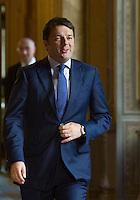 Il Presidente del Consiglio Matteo Renzi a Palazzo Chigi, Roma, 28 ottobre 2014.<br /> Italian Premier Matteo Renzi at Chigi Palace, Rome, 28 October 2014.<br /> UPDATE IMAGES PRESS/Riccardo De Luca