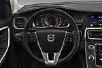 Car pictures of steering wheel view of a 2017 Volvo V60-Cross-Country Summum 5 Door Wagon Steering Wheel