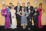 The Cast of Modern Family attends the 18th Annual Screen Actors Guild Awards held at The Shrine Auditorium in Los Angeles, California on January 29,2012                                                                               © 2012 Hollywood Press Agency