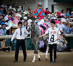 LOUISVILLE, KY - MAY 07: Lani #8, ridden by Yutaka Take at the Kentucky Derby Stakes at Churchill Downs on May 07, 2016 in Louisville, Kentucky.(Photo by Alex Evers/Eclipse Sportswire/Getty Images)