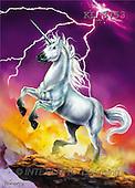 Interlitho, Lorenzo, FANTASY, paintings, unicorn, flash, KL, KL3753,#fantasy# illustrations, pinturas