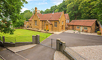 Former school converted to factory and then luxury home now on the market for £1.875m.