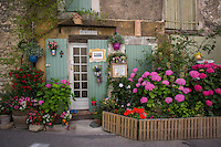 Street scene in Provence, France