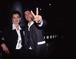 """ALESSANDRO GASSMAN CON FRANCESCA D'ALOJA<br /> PREMIERE' """"IL BAGNO TURCO"""" CINEMA SAVOY ROMA 1997"""
