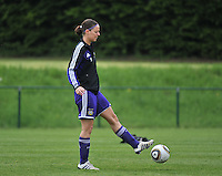 RSC Anderlecht Dames - FC Twente : Cynthia Browaeys.foto DAVID CATRY / Nikonpro.be