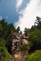 Unnamed Waterfall along Sourdough Creek, North Cascades National Park, Washington, US
