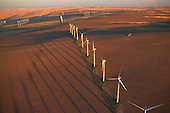 Windmills resembling marching soldiers