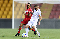 Marco Sau of SC Benevento<br /> during the friendly football match between SC Benevento Calcio and SC Reggina 1914 at stadio Ciro Vigorito in Benevento, Italy, September 12, 2020. <br /> Photo Cesare Purini / Insidefoto
