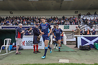 Joe Luca Smith of London Scottish during the Greene King IPA Championship match between London Scottish Football Club and Ealing Trailfinders at Richmond Athletic Ground, Richmond, United Kingdom on 8 September 2018. Photo by David Horn.