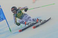17th October 2020, Rettenbachferner, Soelden, Austria; FIS World Cup Alpine Skiing ladies downhill; Lisa Marie Loipetssperger (GER) in foggy conditions