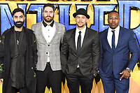"""Rudimental<br /> arriving for the """"Black Panther"""" premiere at the Hammersmith Apollo, London<br /> <br /> <br /> ©Ash Knotek  D3376  08/02/2018"""