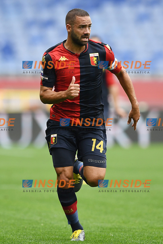 Davide Biraschi <br /> Serie A football match between Genoa CFC and FC Crotone at Marassi Stadium in Genova (Italy), September 20th, 2020. Photo Image Sport / Insidefoto