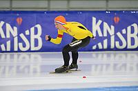 SCHAATSEN: HEERENVEEN: 26-09-2020, KNSB Trainingswedstrijd, Harm Visser, ©foto Martin de Jong