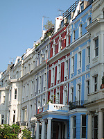 Row Houses, Portobello Market - London