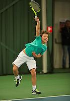 Rotterdam, The Netherlands, March 11, 2016,  TV Victoria, , NOJK 12/16 years, Jip de Buck<br /> Photo: Tennisimages/Henk Koster