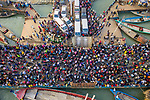 Millions of travels climb onboard ferries for Eid al-Fitr by Azim Khan Ronnie and Badal Sarker
