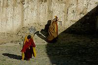 ANCIENT TIBETAN MONASTERY