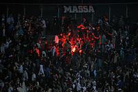 Gli scontri tra tifosi  Juventus.Bergamo 08/05/2013 .Football Calcio Serie A  2012/13 Stadio Atleti Azzurri d'Italia di Bergamo.Atalanta vs Juventus.Foto Insidefoto Federico Tardito