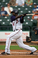 Abercrombie, Reggie 3050.jpg.  PCL baseball featuring the New Orleans Zephyrs at Round Rock Express  at Dell Diamond on June 19th 2009 in Round Rock, Texas. Photo by Andrew Woolley.