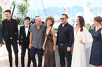 THE CAST - PHOTOCALL OF THE FILM 'BEYOND THE MOUNTAINS AND HILLS' AT THE 69TH FESTIVAL OF CANNES 2016
