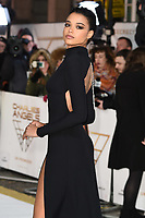 "LONDON, UK. November 20, 2019: Ella Balinska arriving for the ""Charlie's Angels"" premiere at the Curzon Mayfair, London.<br /> Picture: Steve Vas/Featureflash"