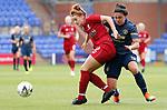 Jess Sigsworth of Manchester United Women and Jasmine Matthews of Liverpool Ladies