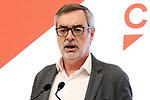 Politician Jose Manuel Villegas during the press conference of Ciudadanos on November 13, 2019 in Madrid, Spain.(ALTERPHOTOS/ItahisaHernandez)