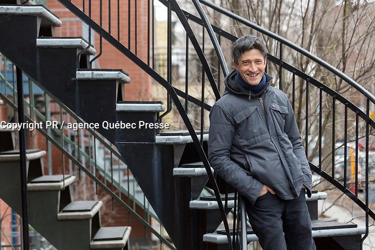 Canada, Québec, Montréal, Jérôme Minière, chanteur et artiste pluri-disciplinaire franco-québécois // Canada, Quebec, Montreal, Jérôme Minière, singer and multi-disciplinary Franco-Quebecois artist